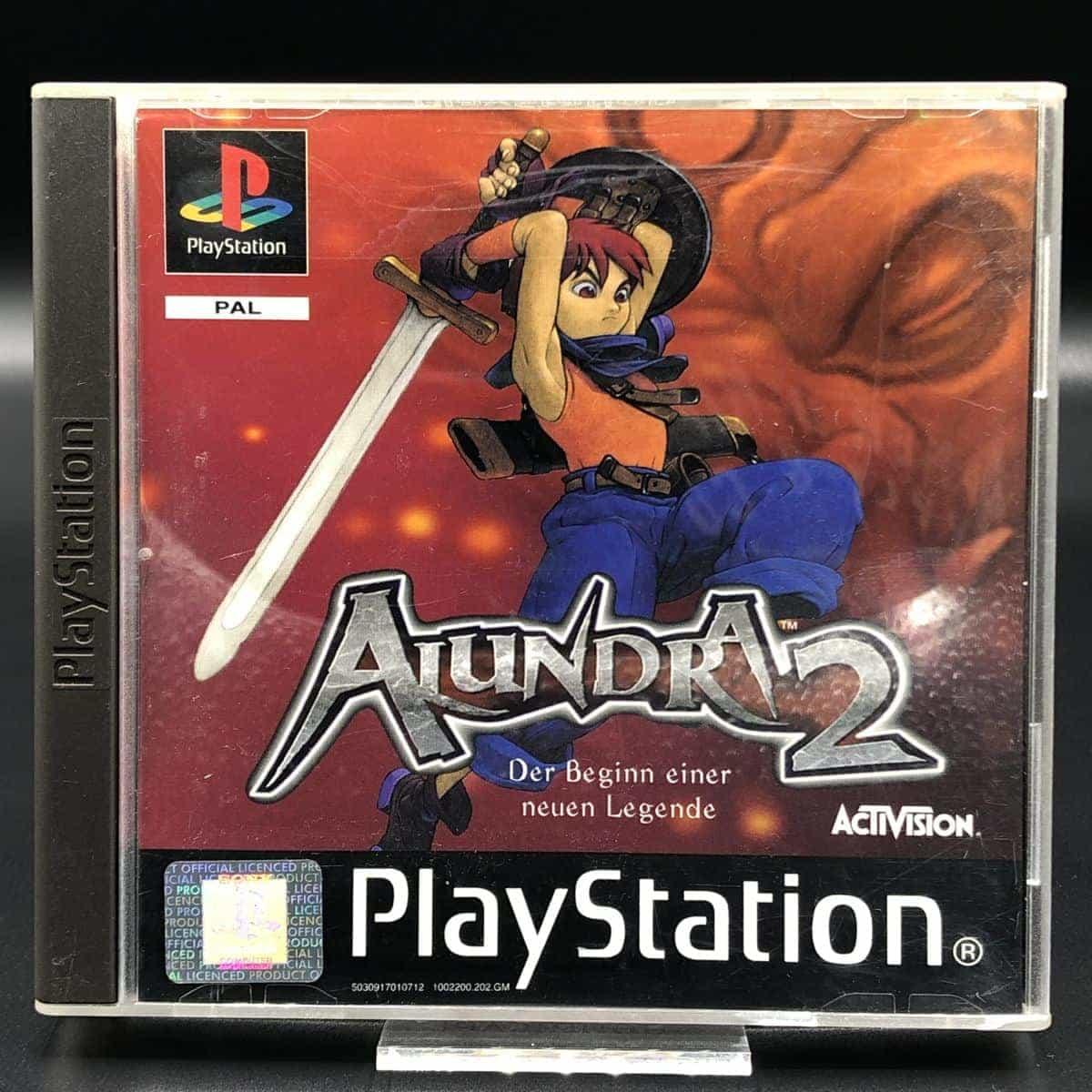 PS1 Alundra 2: A New Legend Begins (Komplett) (Gut) Sony PlayStation 1