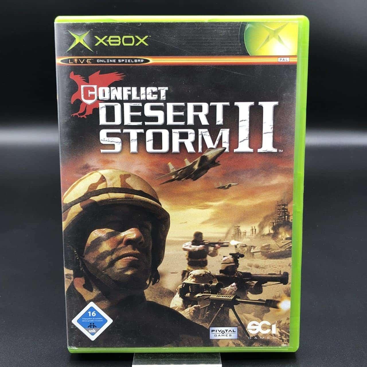 XBC Conflict: Desert Storm II (Komplett) (Gut) Microsoft Xbox Classic