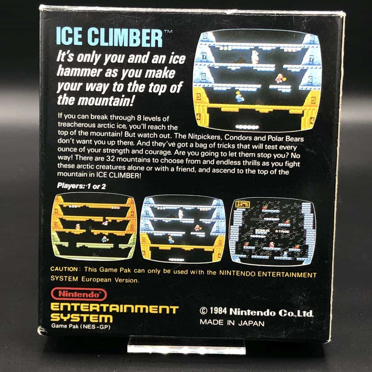 NES Ice Climber (Komplett) (Gut) Nintendo Entertainment System