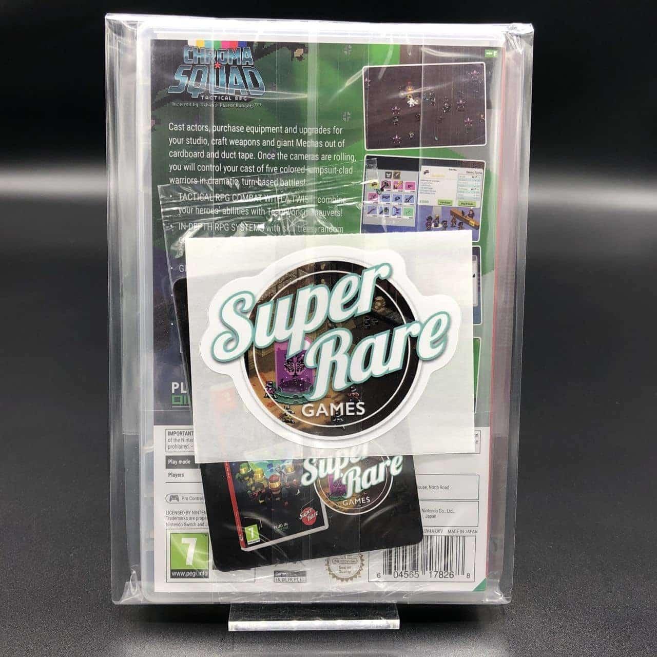 Chroma Squad Tactical RPG (Import) (Super Rare Games) (NEU) Nintendo Switch