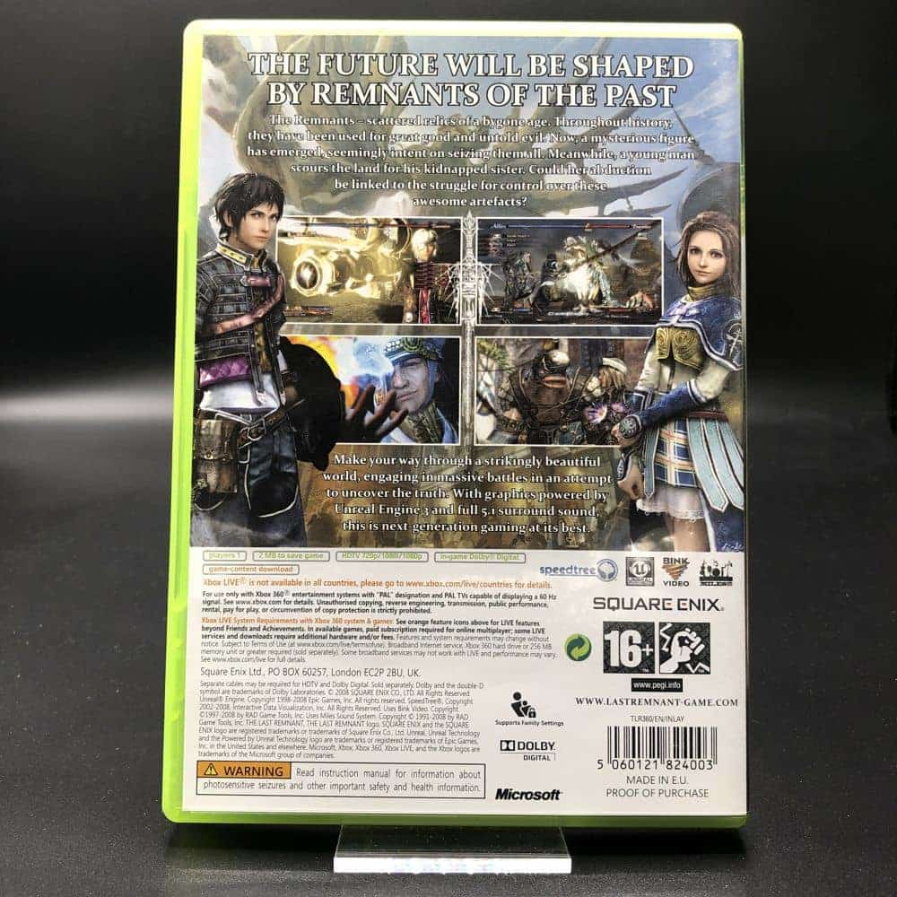The Last Remnant (Komplett) (Sehr gut) XBOX 360