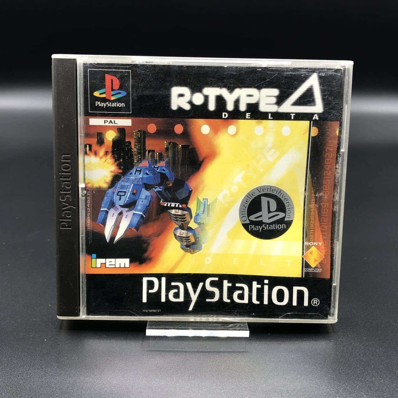 PS1 R-Type Delta (ohne Anleitung) (Gebrauchsspuren) Sony PlayStation 1