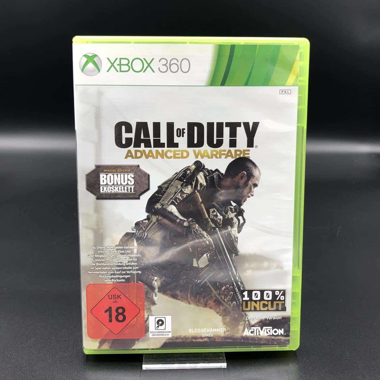 Call of Duty: Advanced Warfare (Komplett) (Sehr gut) Microsoft Xbox 360 (FSK18)