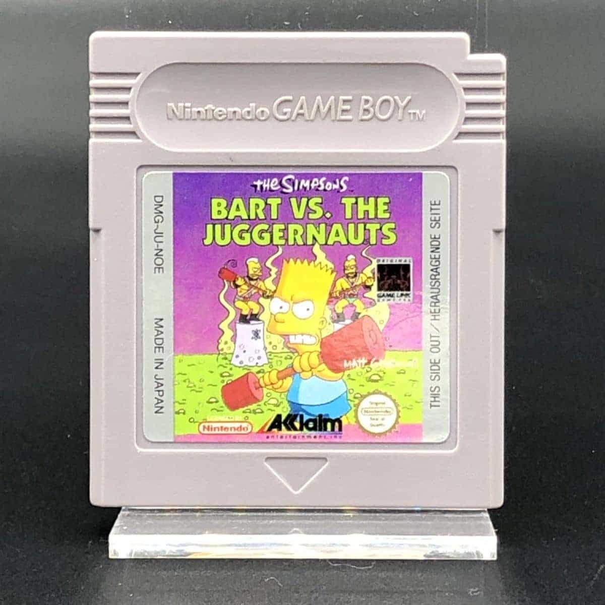 GB The Simpsons: Bart vs. The Juggernauts (Modul) (Sehr gut) Nintendo Game Boy