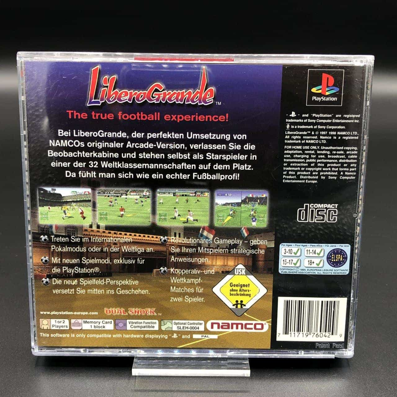 PS1 Libero Grande (Komplett) (Sehr gut) Sony PlayStation 1