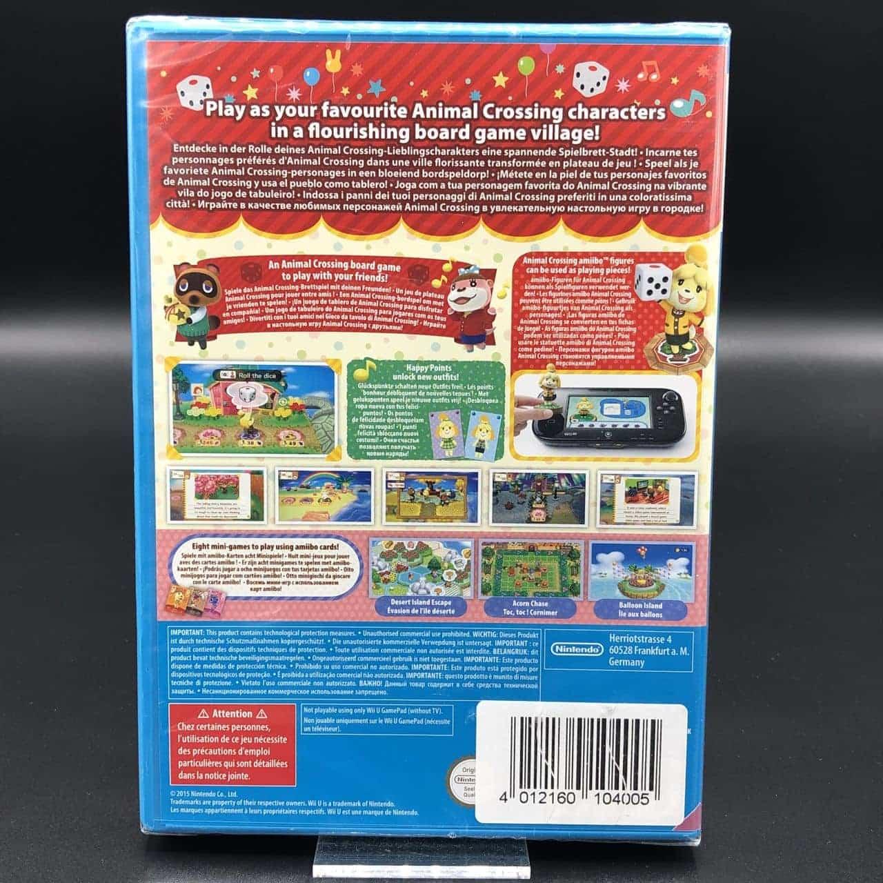 Animal Crossing: Amiibo Festival (Neu) Nintendo WiiU