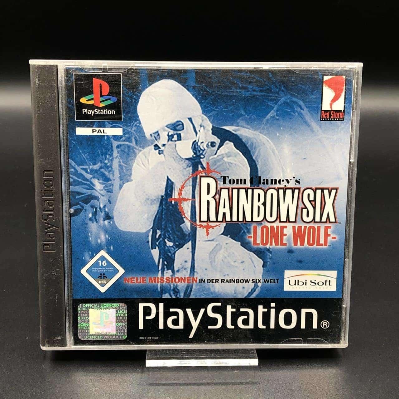 PS1 Rainbow Six: Lone Wolf, Tom Clancy's (Komplett) (Sehr gut) Sony PlayStation 1