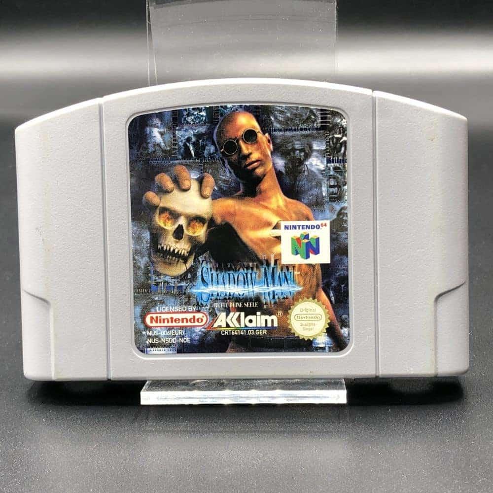 N64 Shadow Man (Modul) (Sehr gut) Nintendo 64
