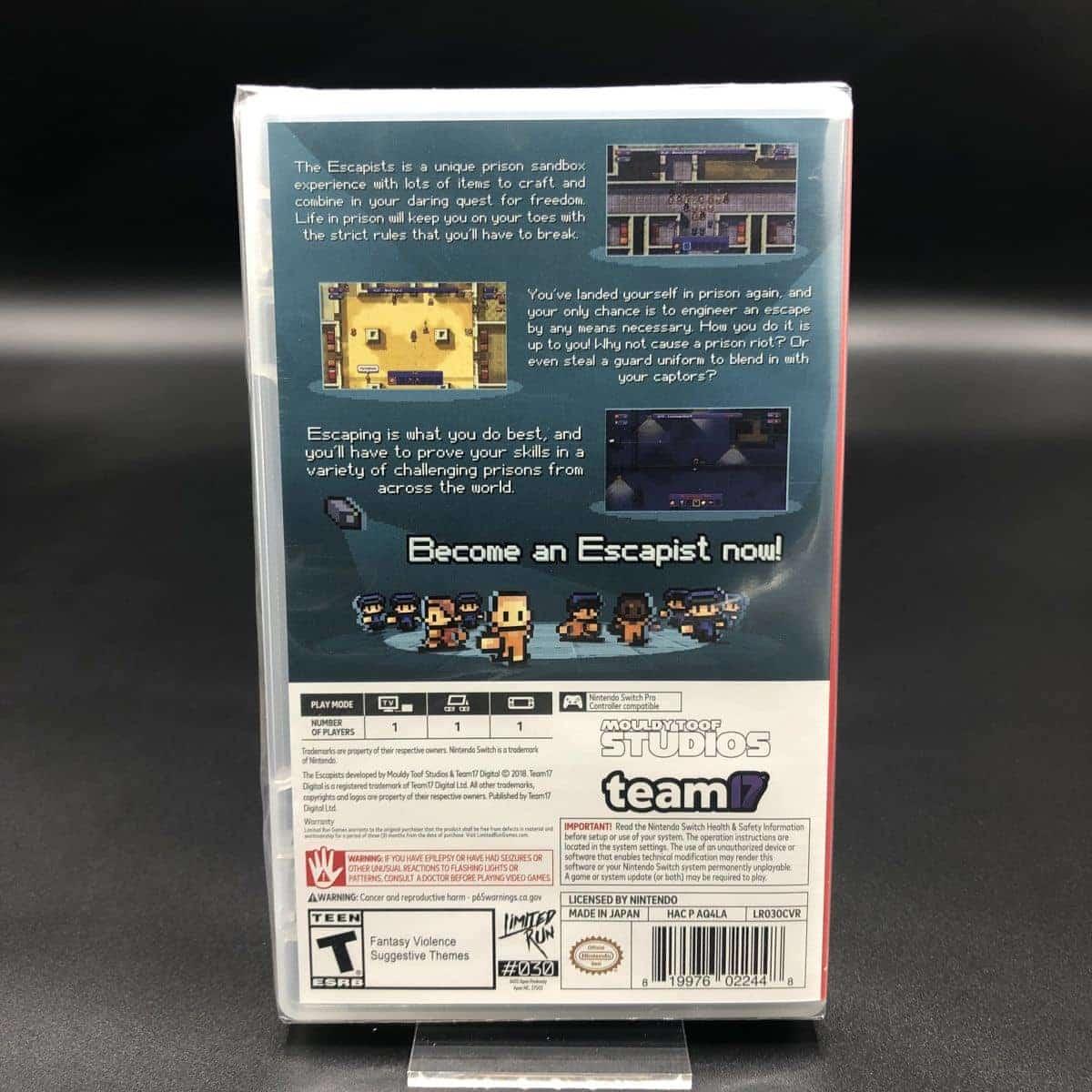 The Escapists (Complete Edition) (Import) (NEU) Nintendo Switch