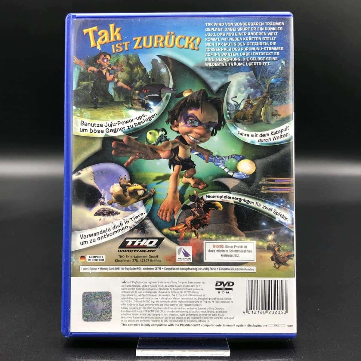 PS2 Tak 2: Der Stab der Träume (Komplett) (Sehr gut) Sony PlayStation 2