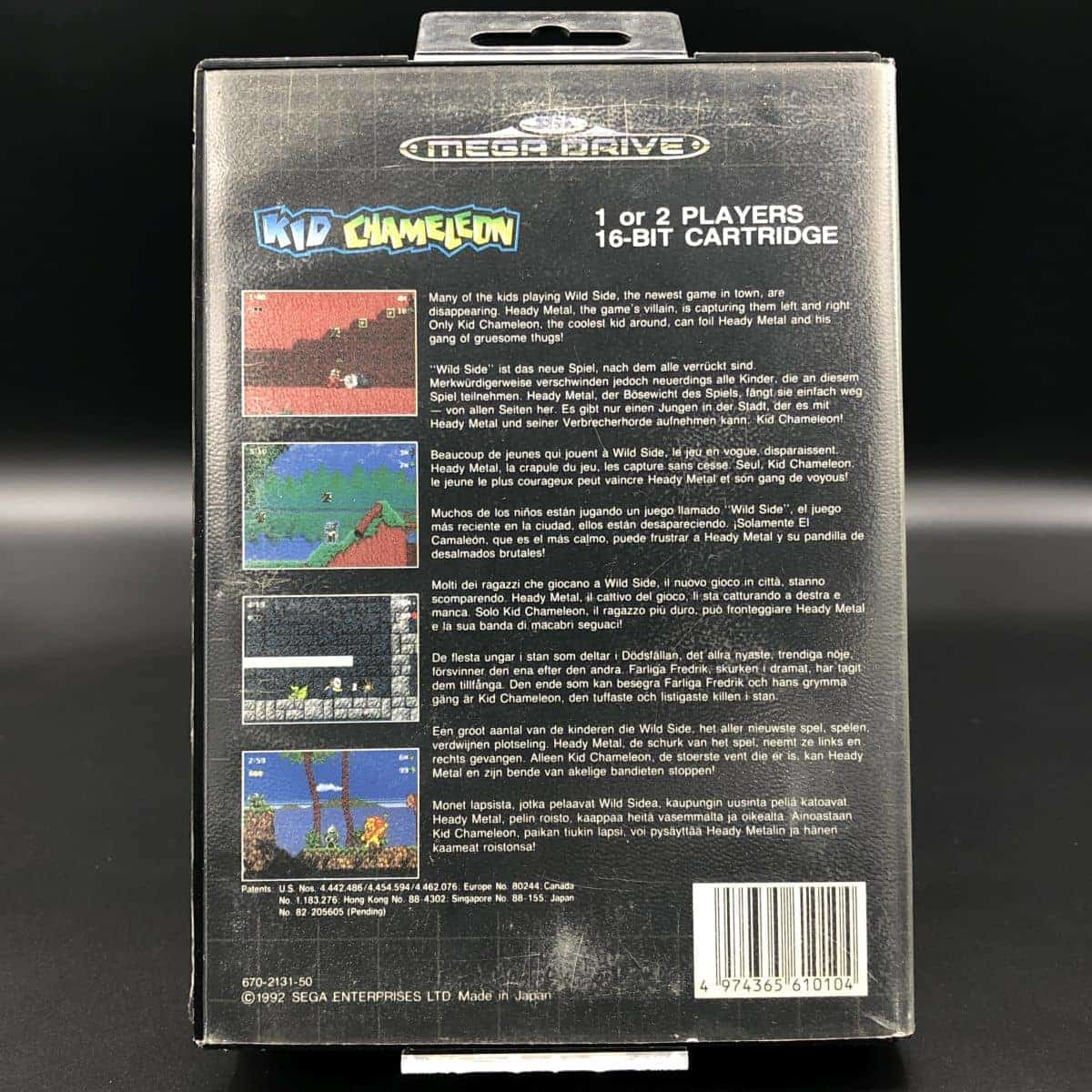Kid Chameleon (ohne Anleitung) (Gut) Sega Mega Drive