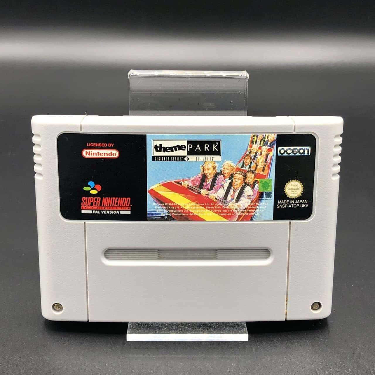 SNES Theme Park (Modul) (Sehr gut) Super Nintendo