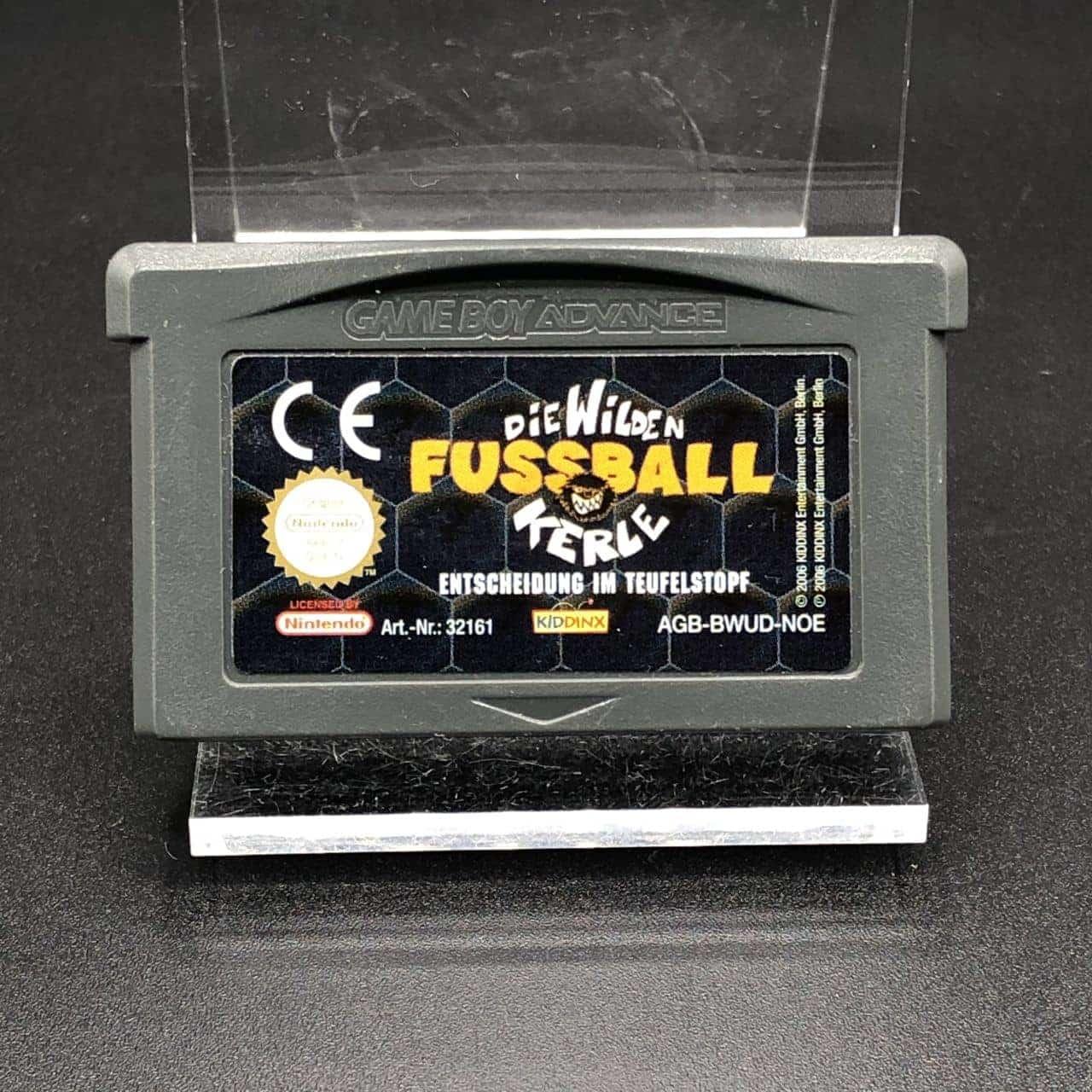 GBA Die Wilden Fußball Kerle: Entscheidung im Teufelstopf (Modul) (Gut) Nintendo Game Boy Advance