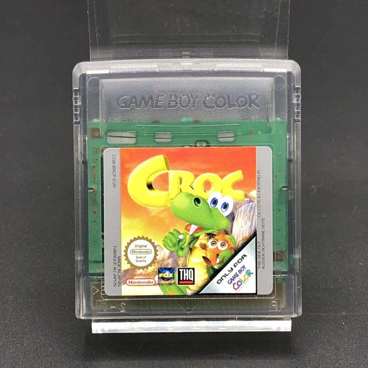GBC Croc (Modul) (Sehr gut) Nintendo Game Boy Color