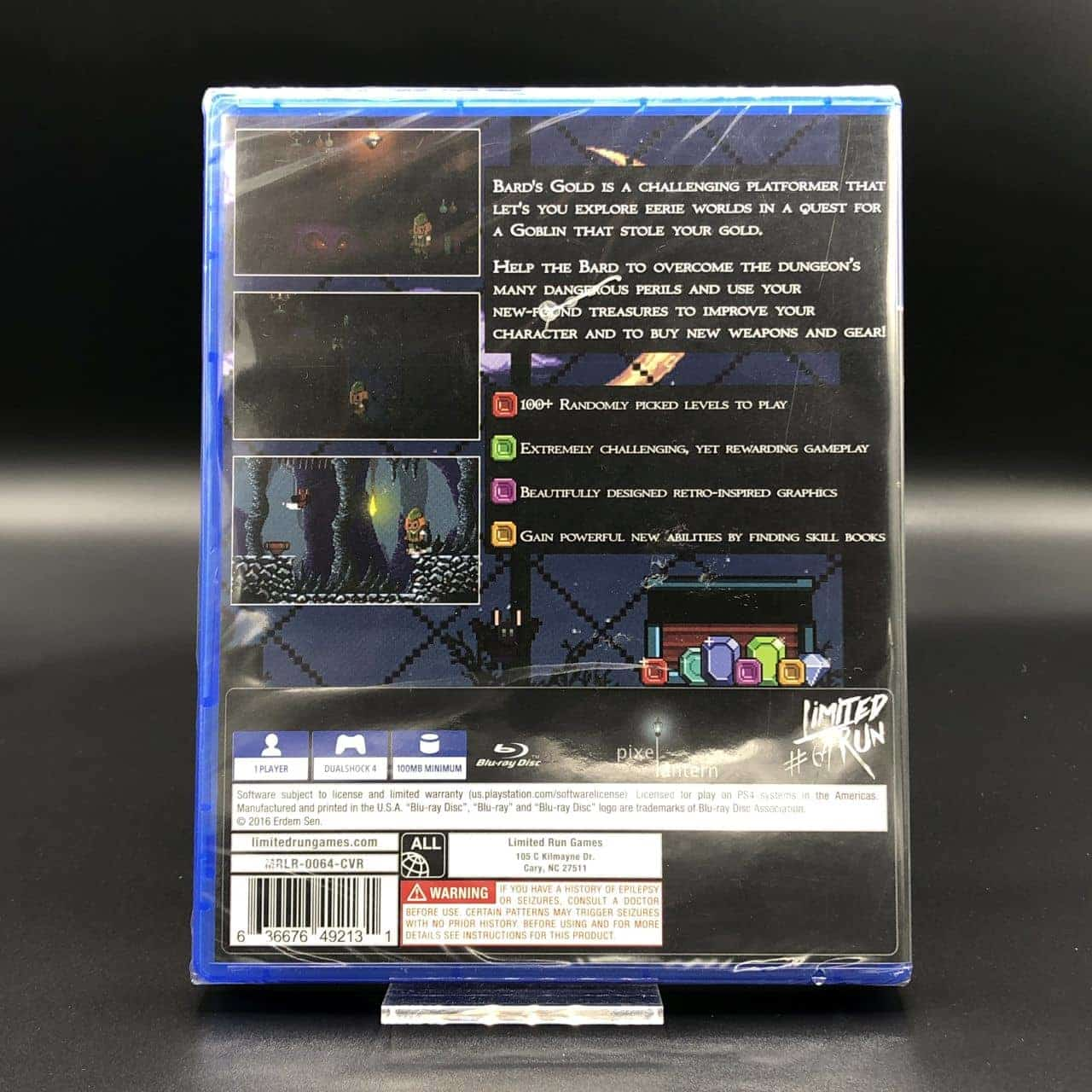 PS4 Bard's Gold (Import) (Limited Run #64) (NEU) Sony PlayStation 4