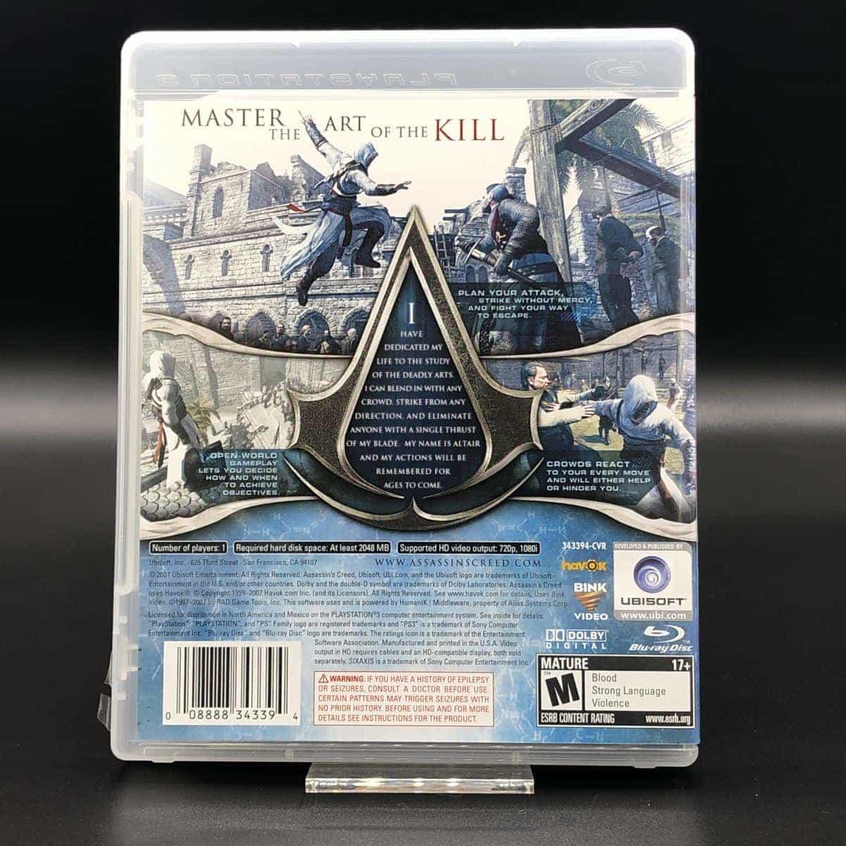 PS3 Assassin's Creed (Import) (Komplett) (Sehr gut) Sony PlayStation 3