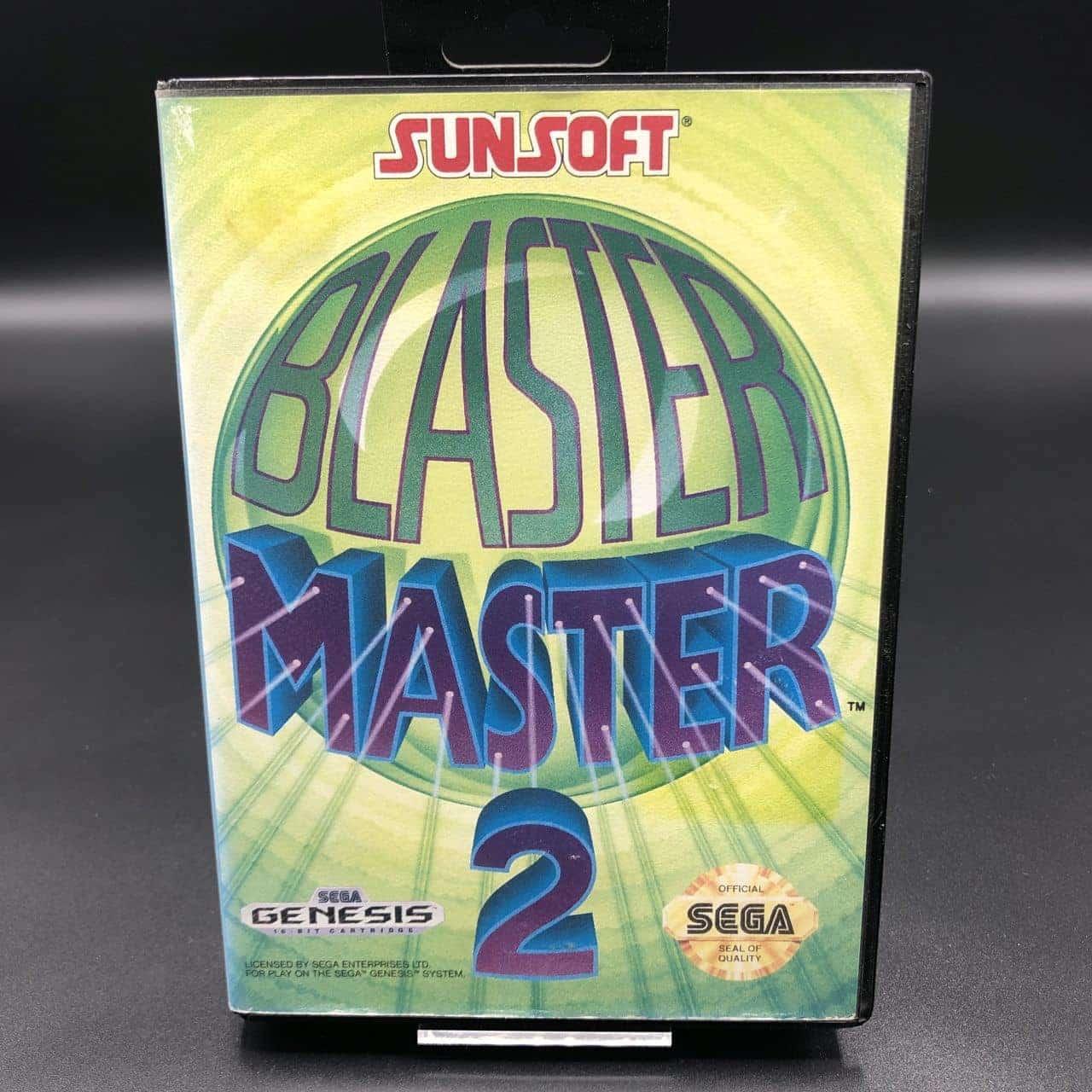 Blaster Master 2 (Import) (Komplett) (Sehr gut) Sega Mega Drive Genesis