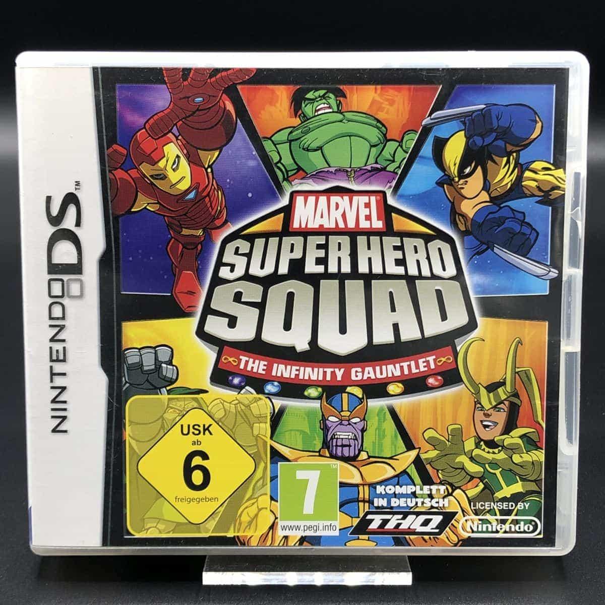 Marvel Super Hero Squad: The Infinity Gauntlet (Komplett) (Sehr gut) Nintendo DS