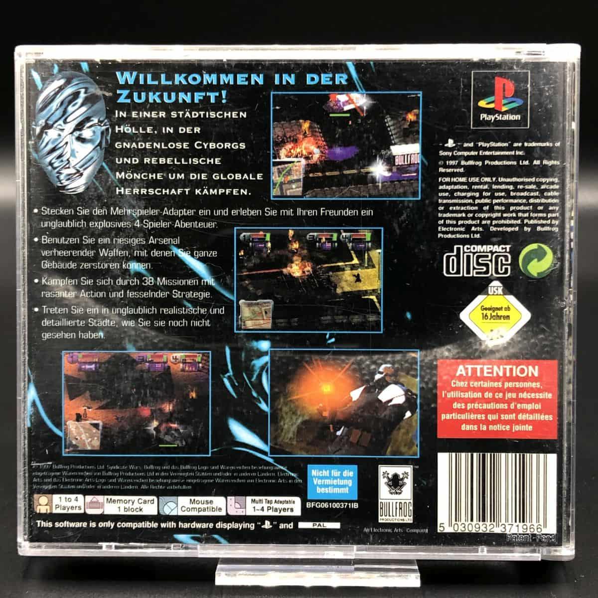 PS1 Syndicate Wars (Komplett) (Gut) Sony PlayStation 1