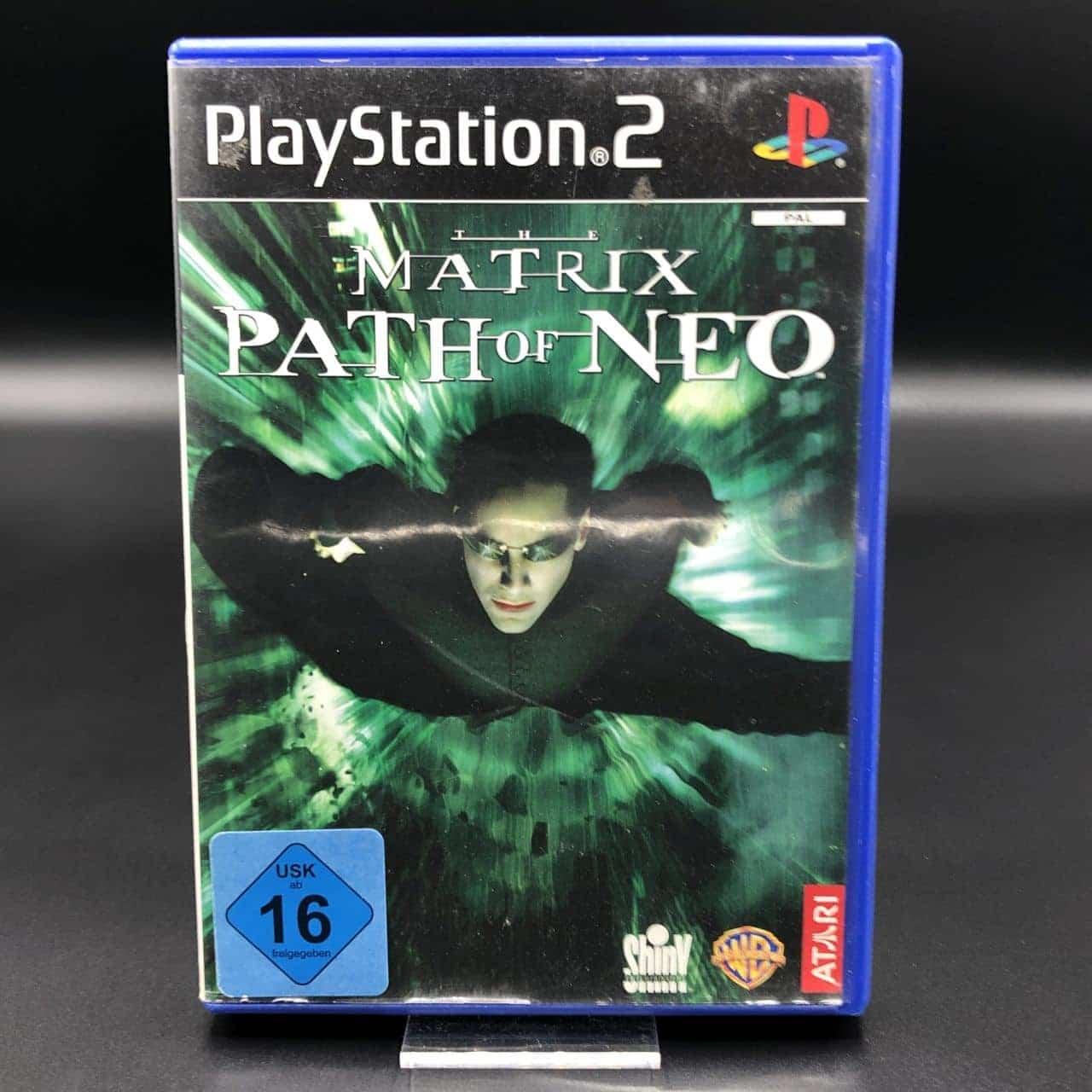 PS2 The Matrix: Path of Neo (Komplett) (Gut) Sony PlayStation 2