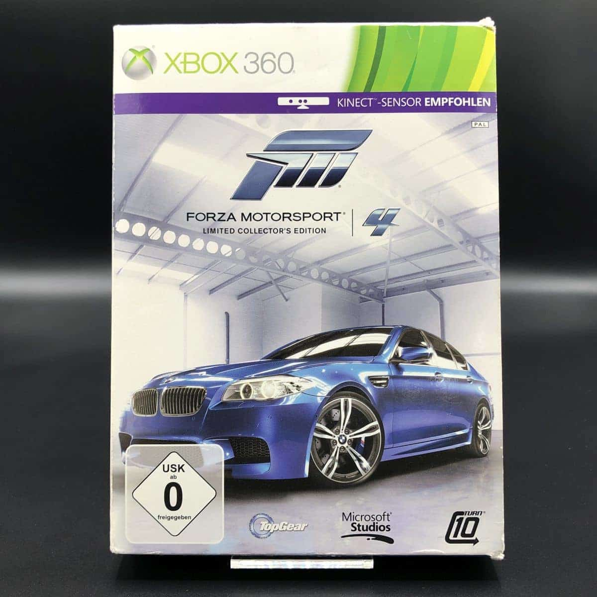 Forza Motorsport 4 (Limited Collector's Edition) (Komplett) (Gut) XBOX 360