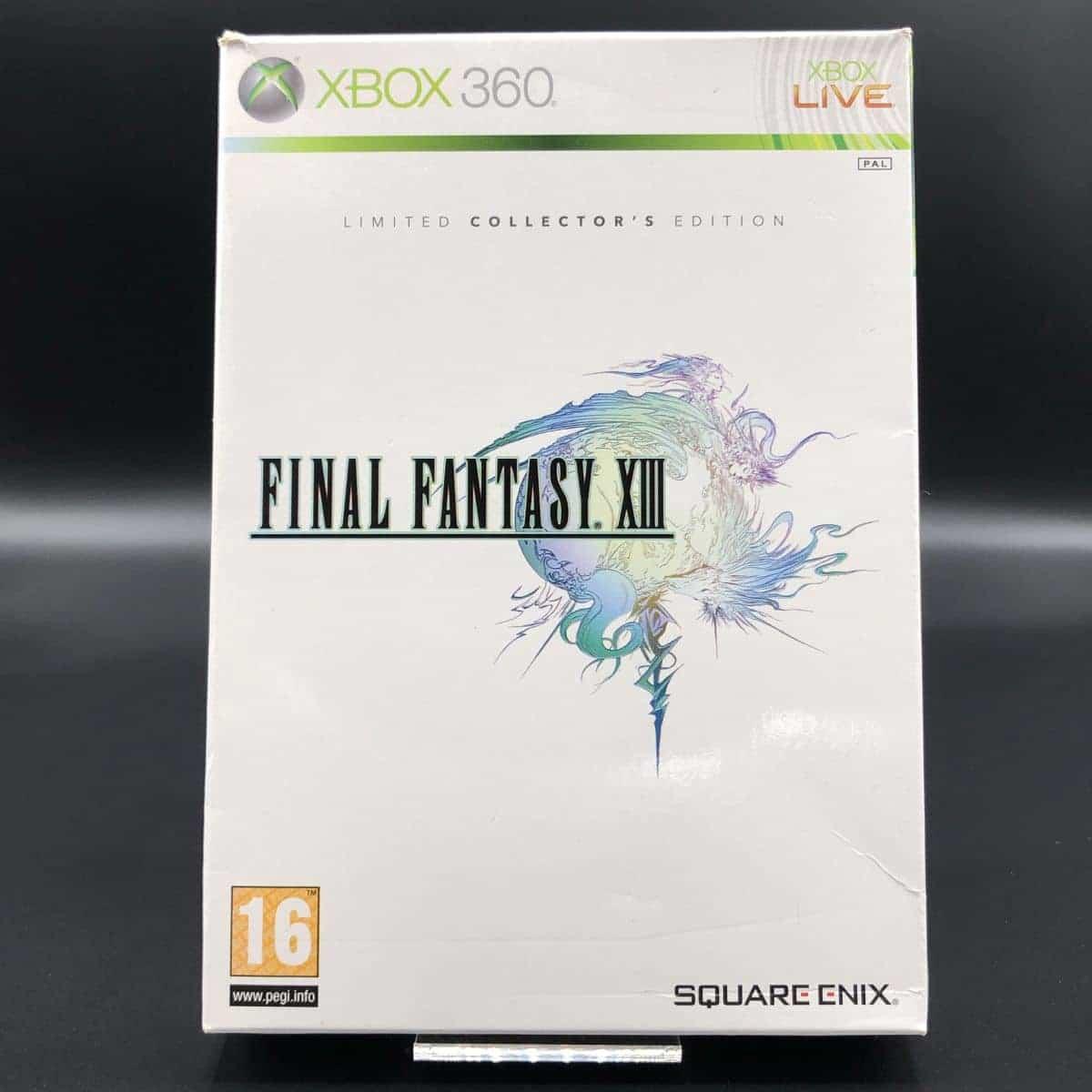 Final Fantasy XIII (Collector's Edition) (Komplett) (Gut) XBOX 360