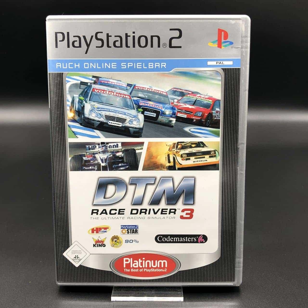 PS2 DTM Race Driver 3 (Platinum) (Komplett) (Sehr gut) Sony PlayStation 2