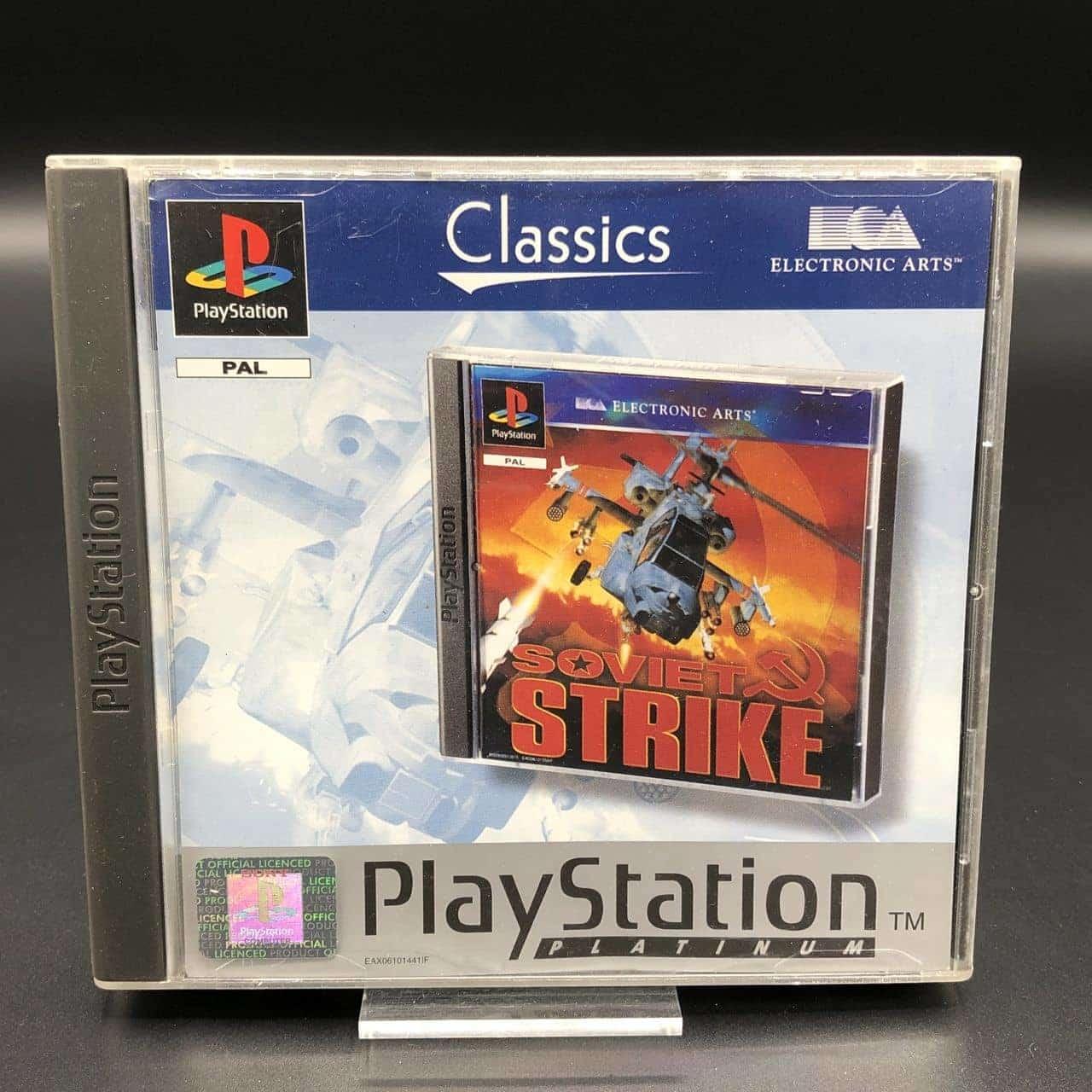 PS1 Soviet Strike (Platinum) (Komplett) (Gut) Sony PlayStation 1 (FSK18)