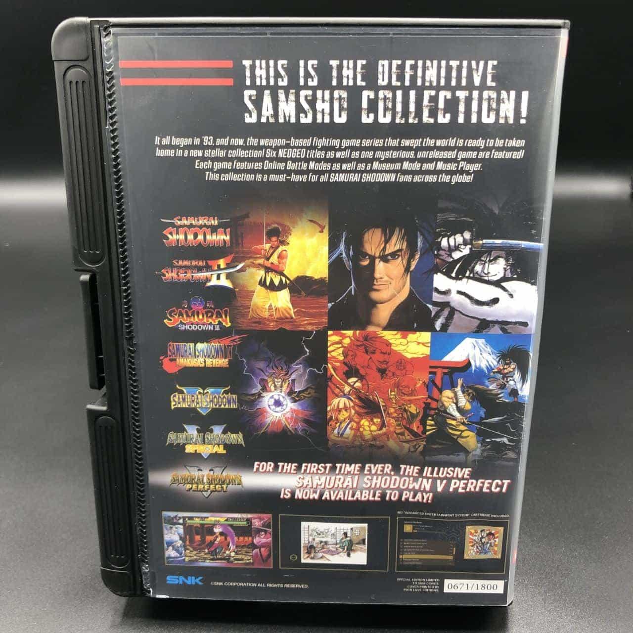 Samurai Shodown Neo Geo Collection (NEU) Nintendo Switch