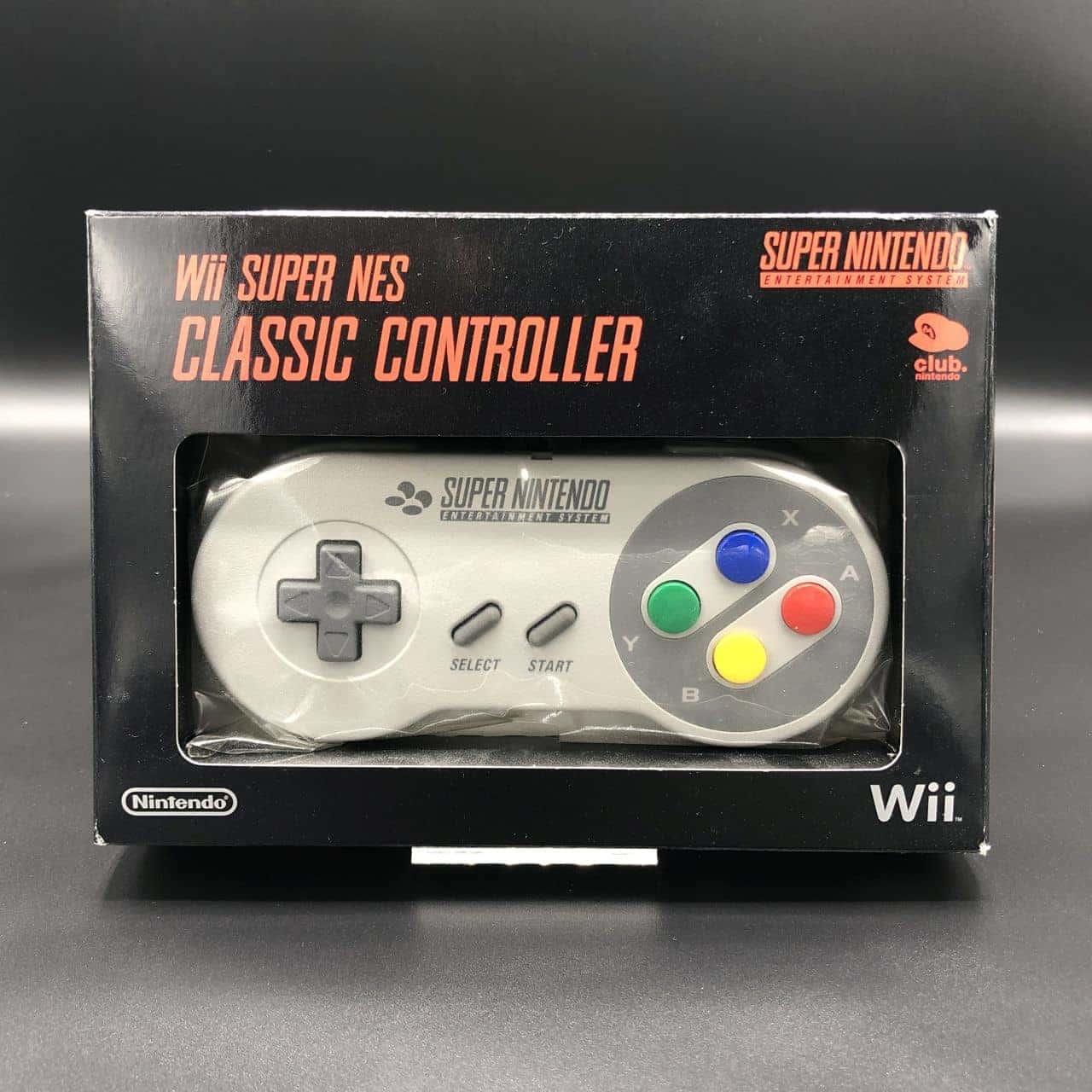 Super NES Classic Controller für Nintendo WII (NEU) Super Nintendo