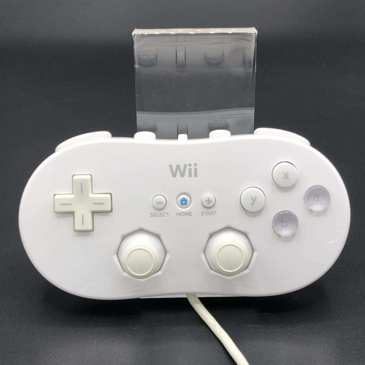 Original Nintendo Wii Classic Gamepad (Weiß) (Sehr gut) Nintendo Wii