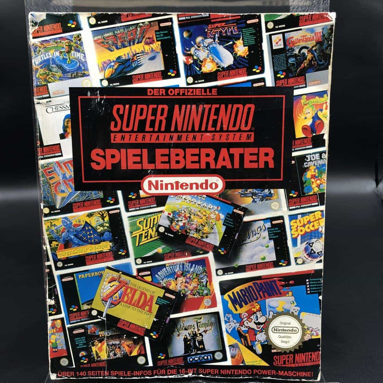 Der offizielle Super Nintendo Spieleberater (Gebrauchsspuren)