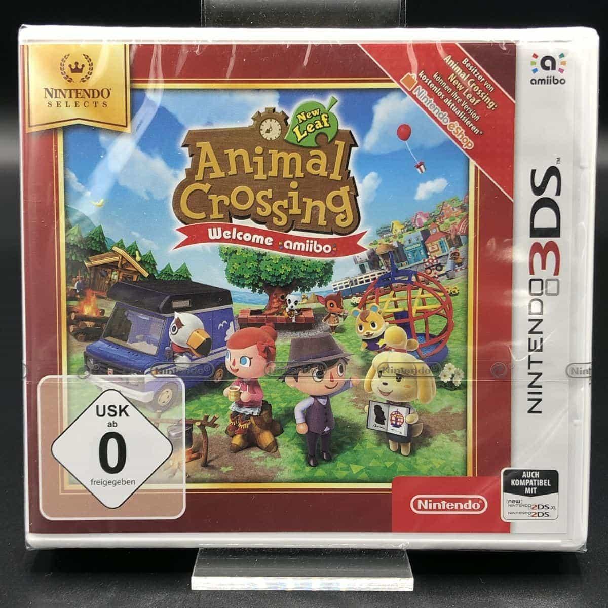 Animal Crossing: New Leaf (NEU) Nintendo 3DS