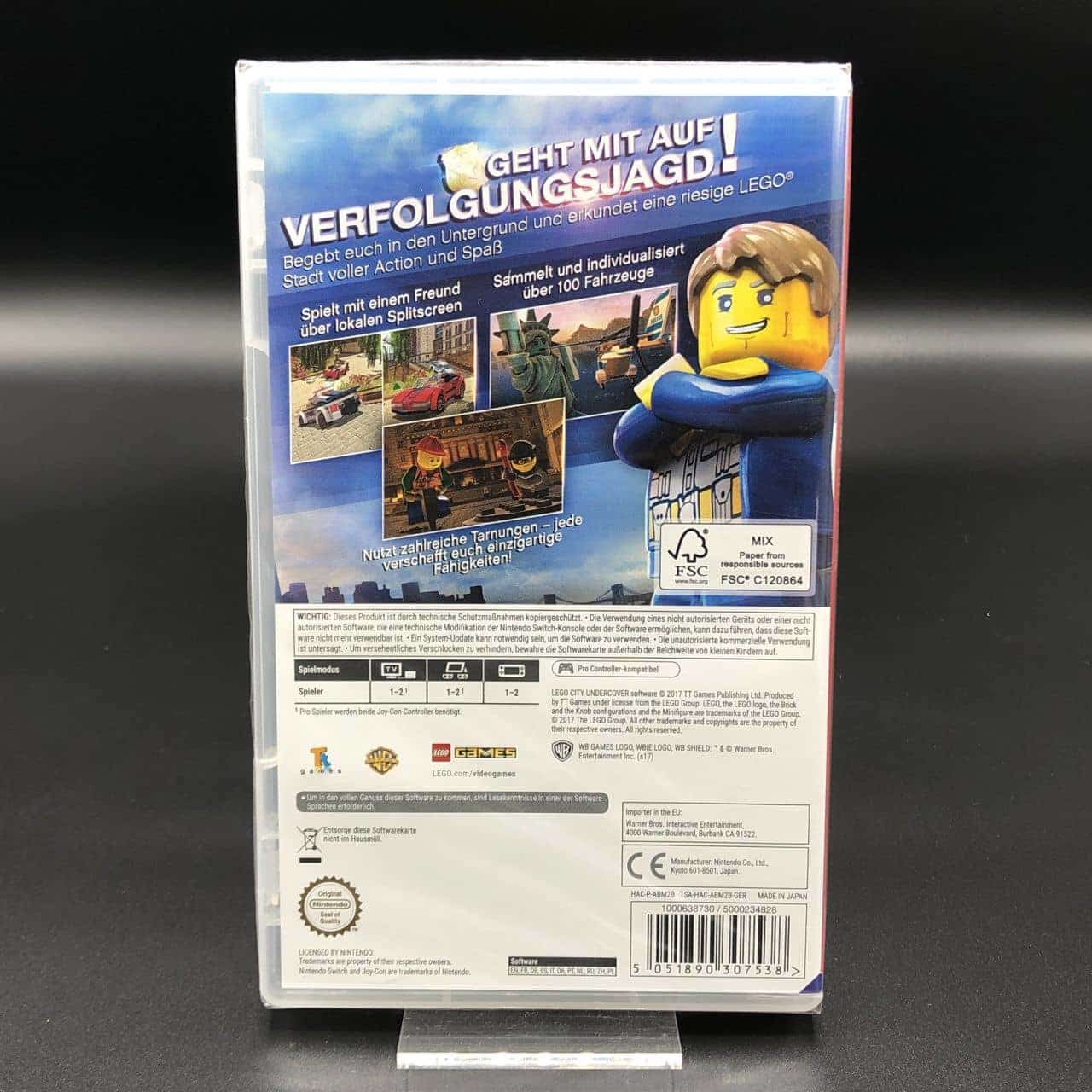 Lego City: Undercover (NEU) Nintendo Switch