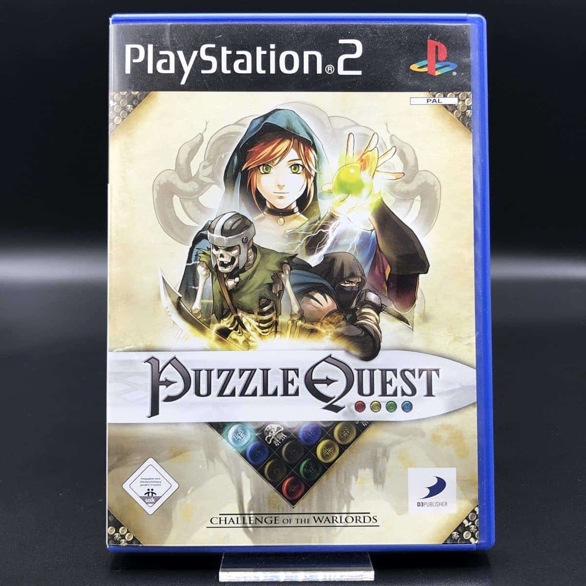 PS2 Puzzle Quest: Challenge of the Warlords (Komplett) (Sehr gut) Sony PlayStation 2