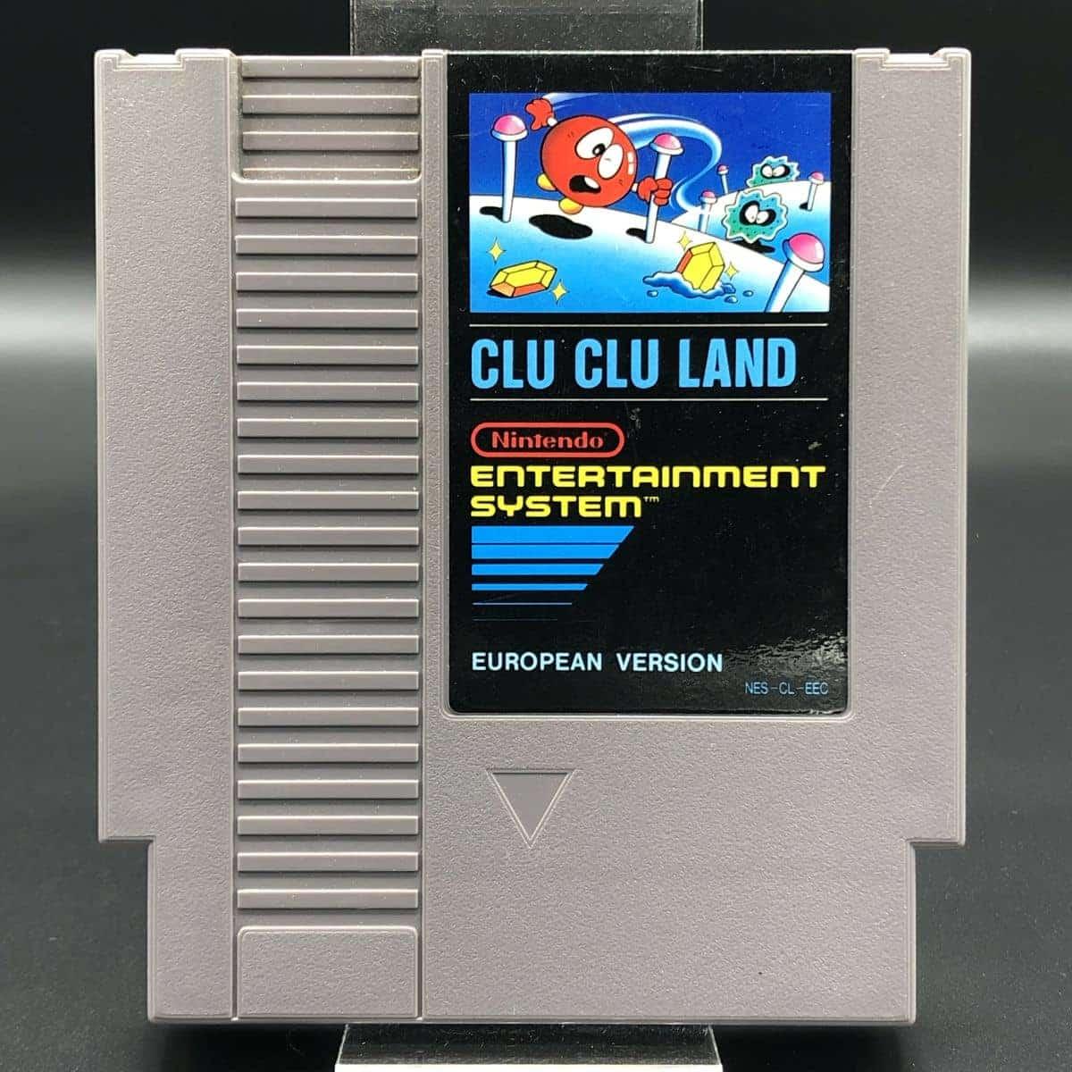 NES Clu Clu Land (Modul) (Sehr gut) Nintendo Entertainment System