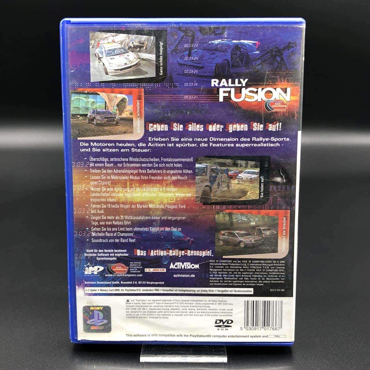 PS2 Rally Fusion: Race of Champions (Komplett) (Gebrauchsspuren) Sony PlayStation 2