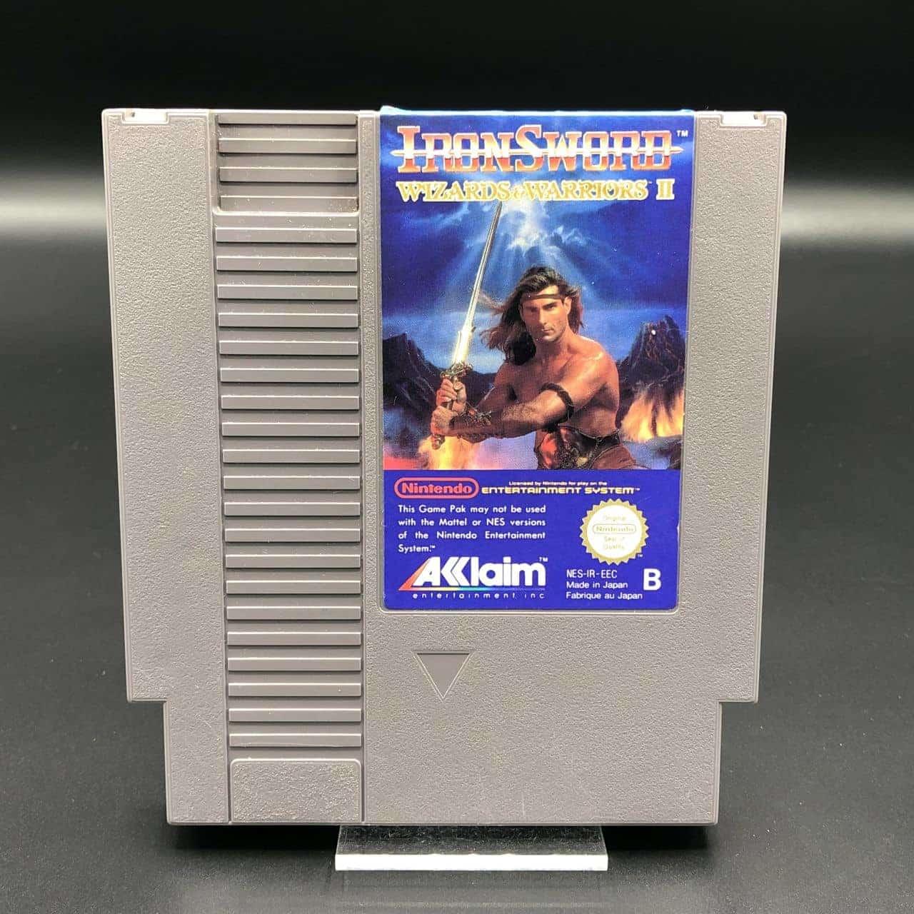 NES Ironsword: Wizards & Warriors II (Modul) (Gut) Nintendo Entertainment System #2