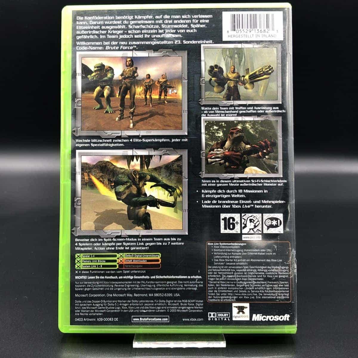 XBC Brute Force (Komplett) (Sehr gut) Microsoft Xbox Classic
