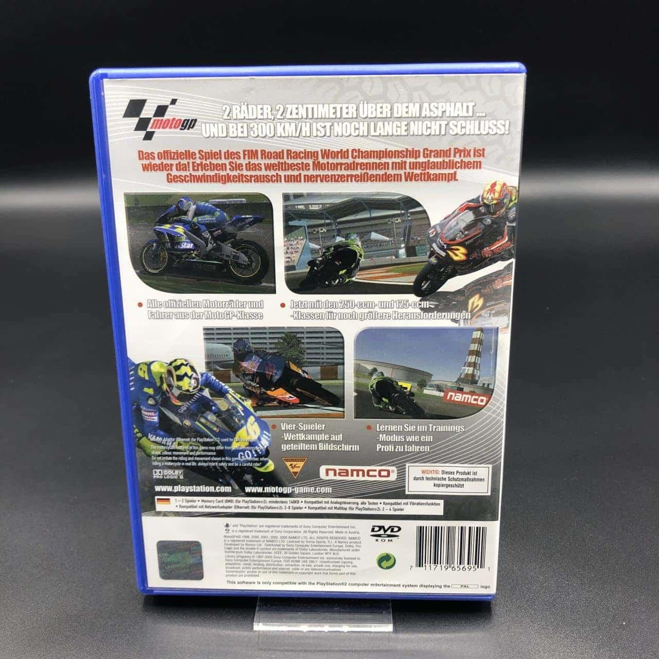 PS2 MotoGP 4 (Komplett) (Gebrauchsspuren) Sony PlayStation 2