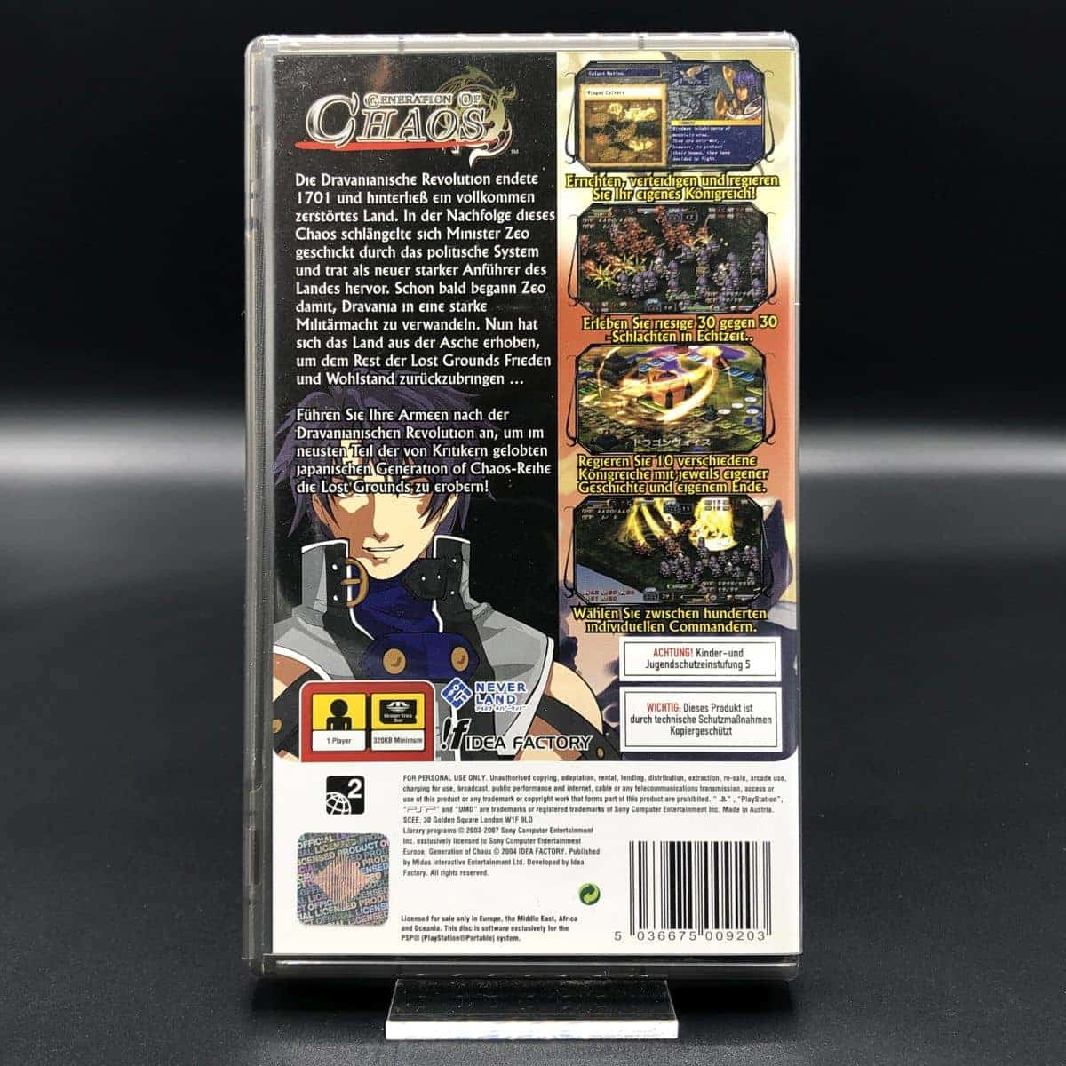 PSP Generation of Chaos (Komplett) (Sehr gut) Sony PlayStation Portable