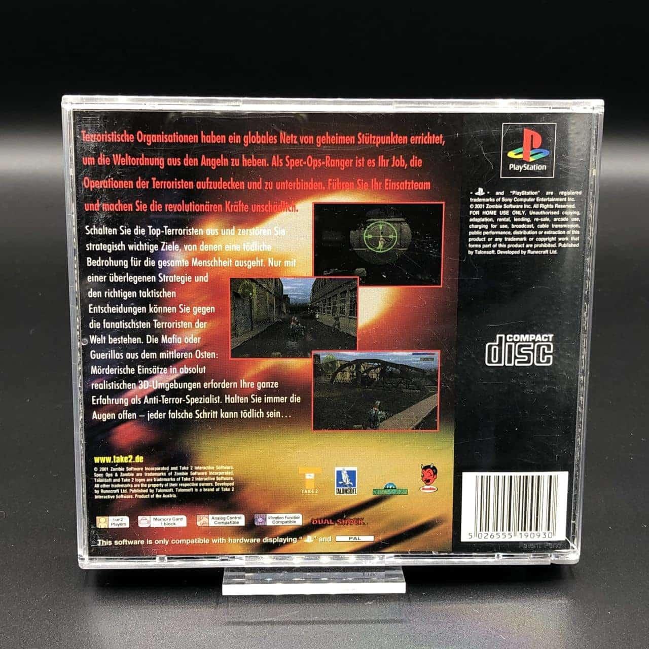 PS1 Spec Ops: Covert Assault (Komplett) (Sehr gut) Sony PlayStation 1