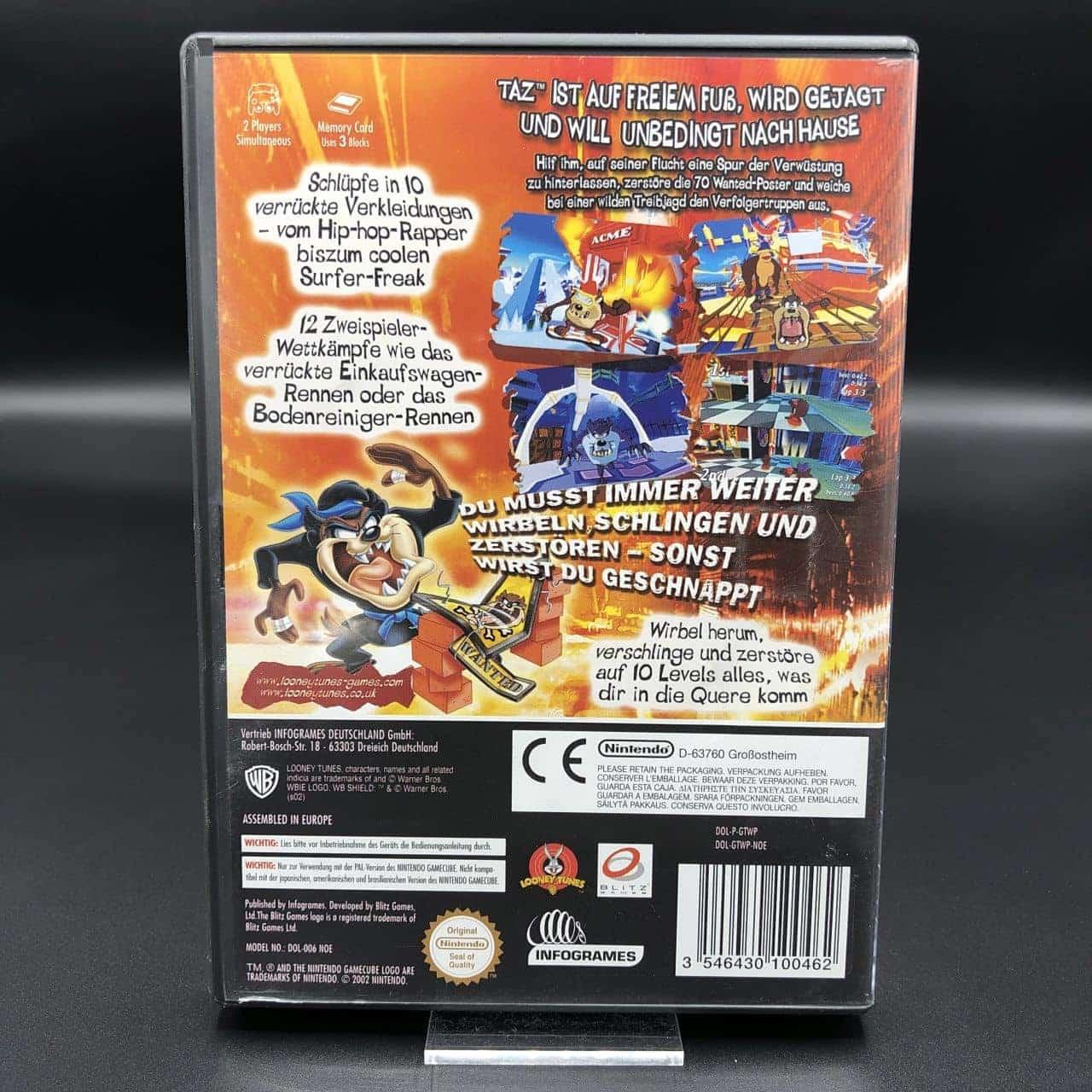 GC Taz: Wanted (Komplett) (Sehr gut) Nintendo GameCube
