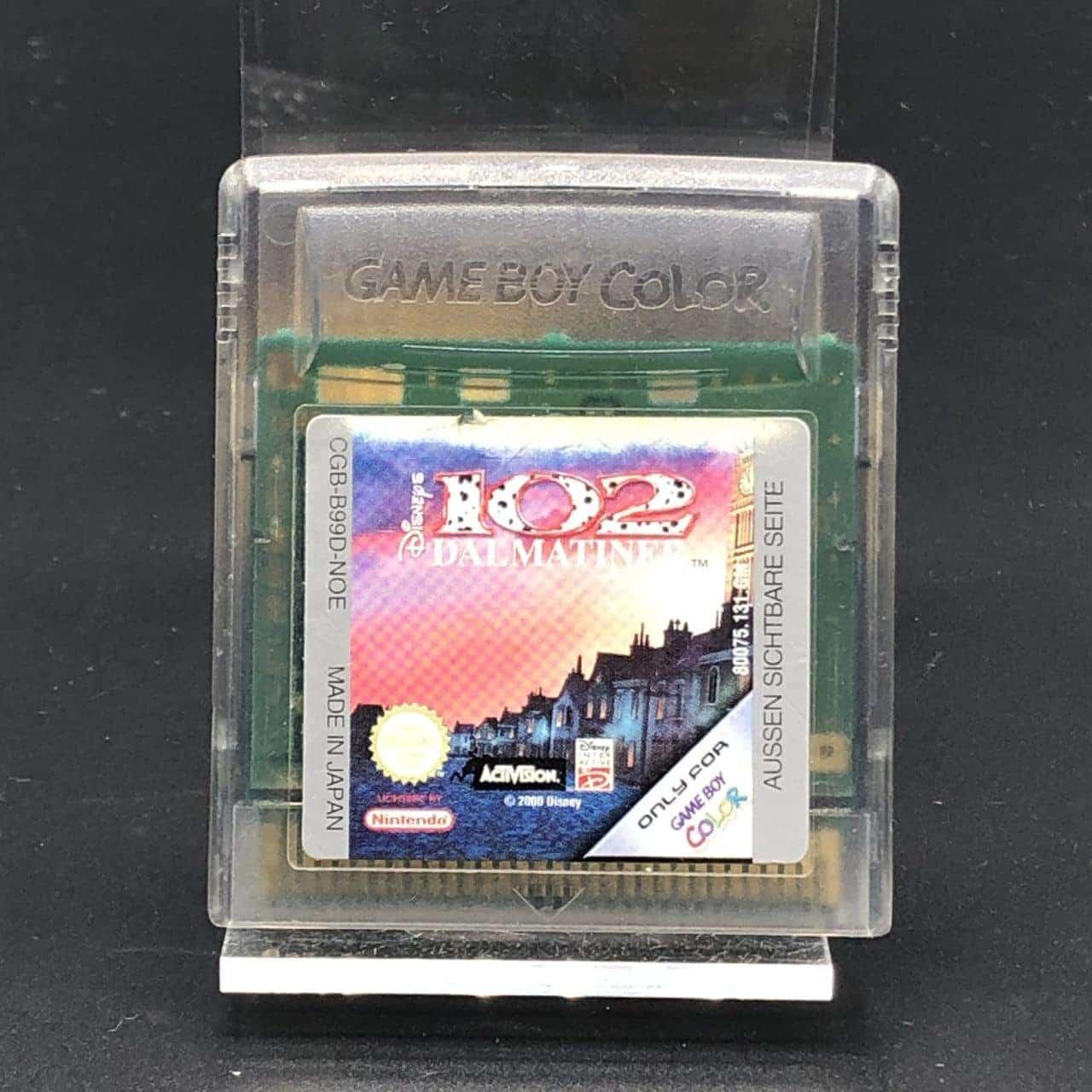 GBC 102 Dalmatiner (Modul) (Gut) Nintendo Game Boy Color