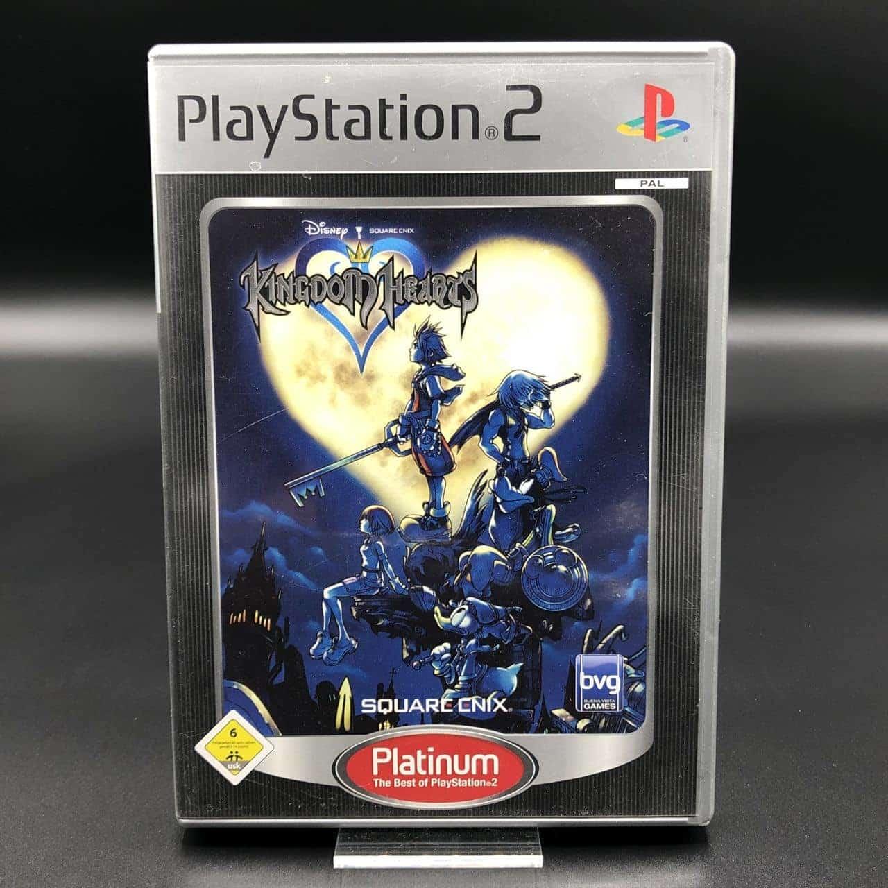 PS2 Kingdom Hearts (Platinum) (Komplett) (Gebrauchsspuren) Sony PlayStation 2