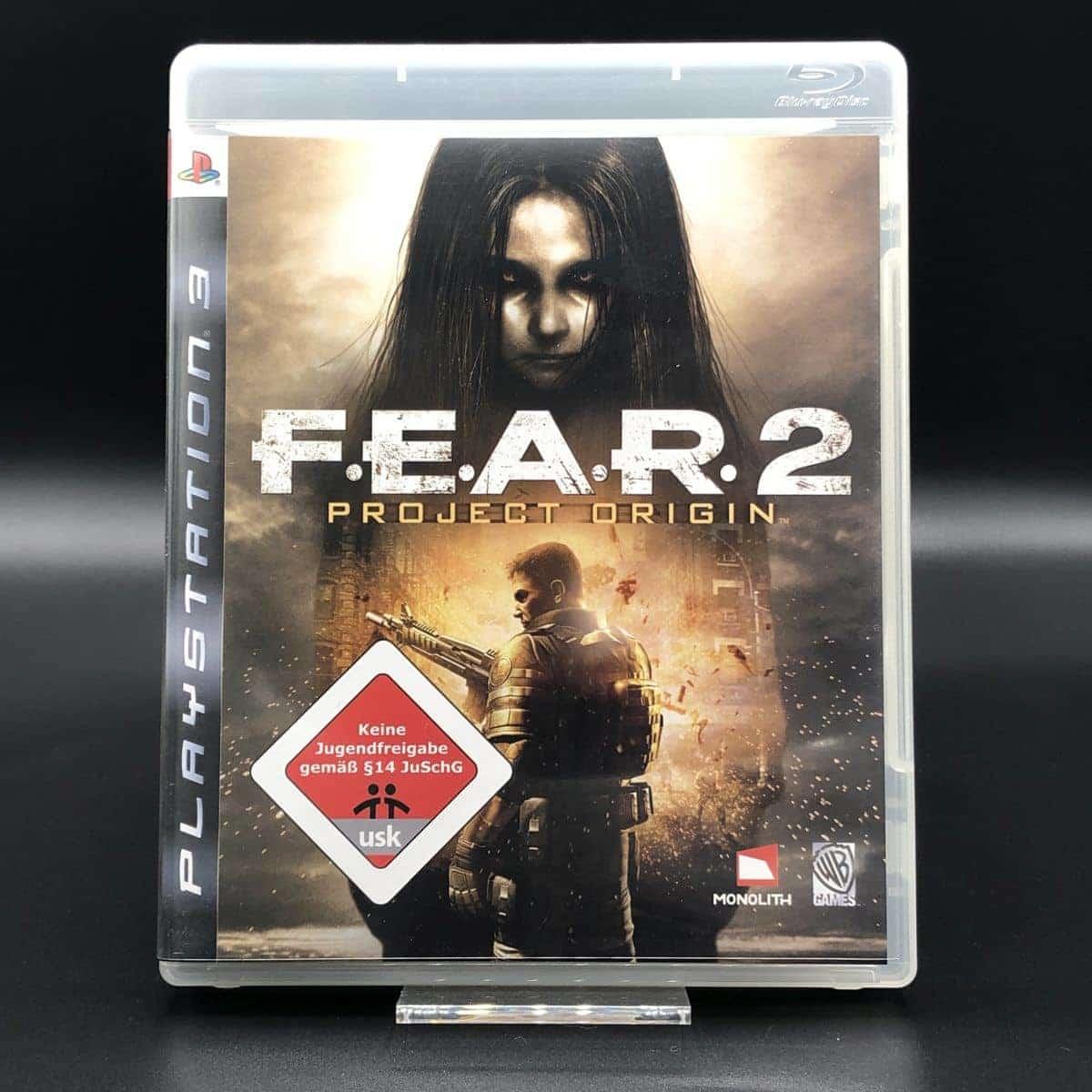PS3 F.E.A.R. 2: Project Origin (Komplett) (Sehr gut) Sony PlayStation 3 (FSK18)
