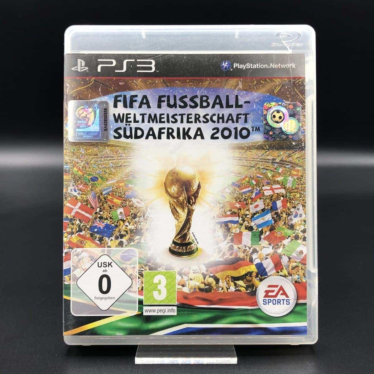 PS3 Fifa Fußball Weltmeisterschaft Südafrika 2010 (Komplett) (Sehr gut)