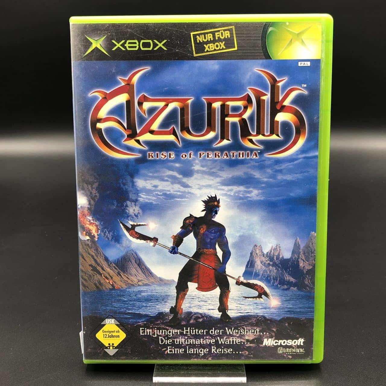 XBC Azurik: Rise of Perathia (Komplett) (Gut) Microsoft Xbox Classic