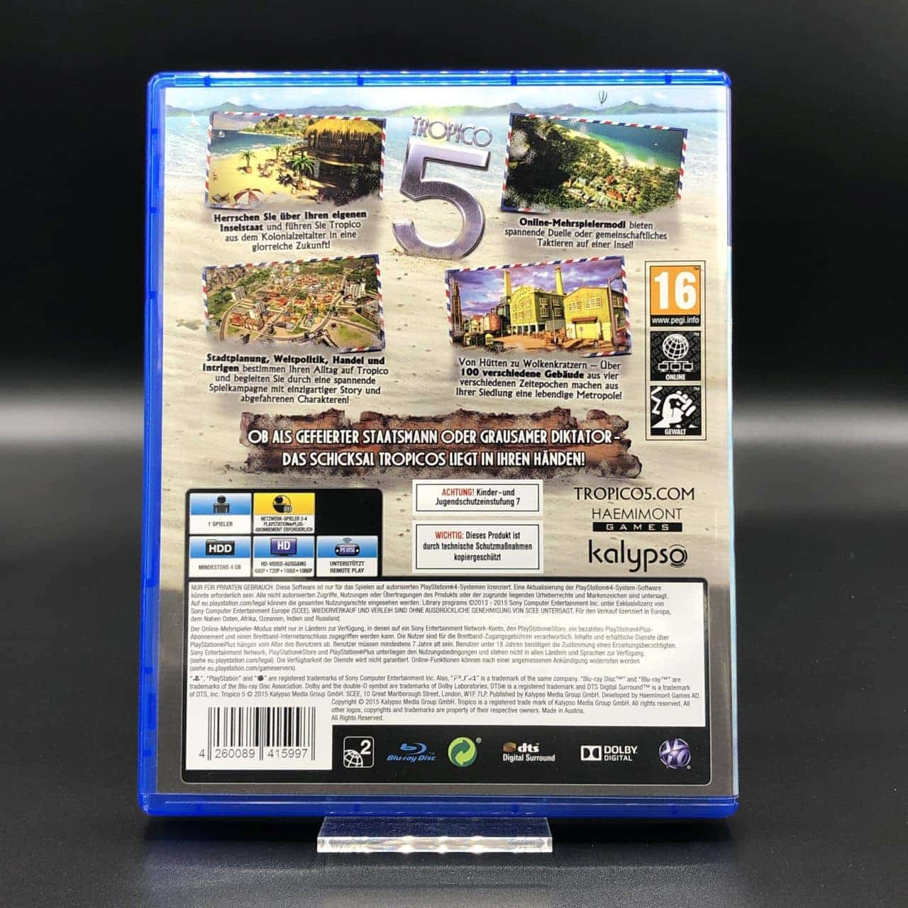 PS4 Tropico 5 (Sehr gut) Sony PlayStation 4
