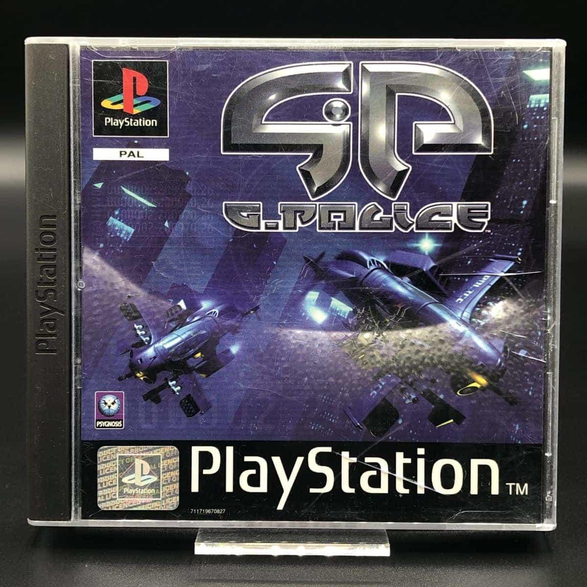 PS1 G-Police (Komplett) (Gebrauchsspuren) Sony PlayStation 1